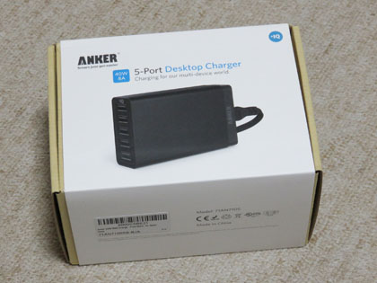 Anker 40W 5ポート USB急速充電器 代替品