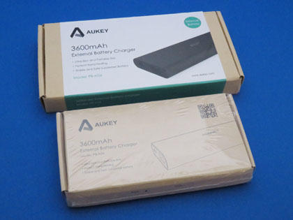Aukey AIPower モバイルバッテリー 3600mAh PB-N26