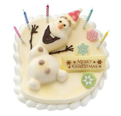 サーティワンアイスクリーム バースディケーキ 'オラフ'ハッピースノーマン