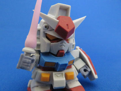ガンダム(BUILD MODEL No.11 RX-78-2 GUNDAM)
