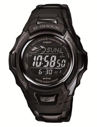 カシオ 腕時計 ジーショック ブラック/ブルー 世界6局対応電波 タフソーラー MTG-M900BD-1JF