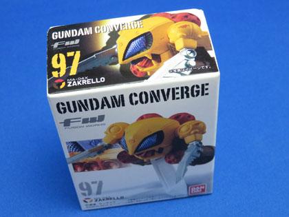 FW GUNDAM CONVERGE No.97 MA-04X ZAKRELLO