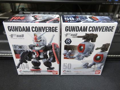 FW GUNDAM CONVERGE ボール/プロトタイプガンダム