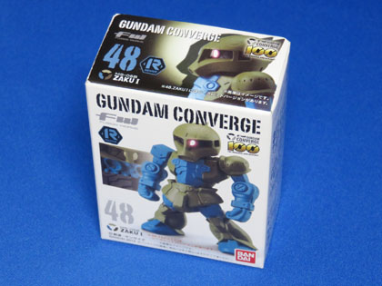 FW GUNDAM CONVERGE No.48 MS-05B ZAKU I