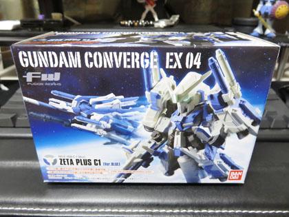 FW GUNDAM CONVERGE EX 04 ZETA PLUS C1