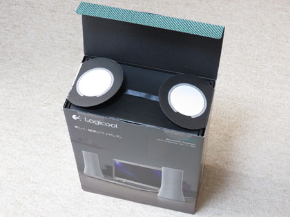 LOGICOOL Bluetooth スピーカー Z600WH 開封