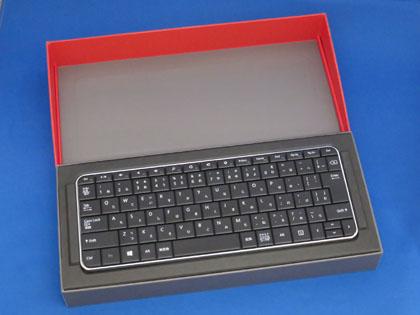 マイクロソフト Wedge Mobile Keyboard 開封