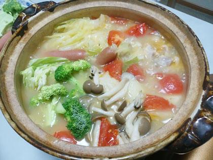 カゴメ やさいとけこむコーン鍋スープ
