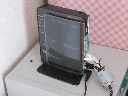 無線LANルーター NEC Aterm WR9500