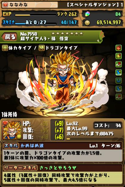 超サイヤ人3・孫 悟空