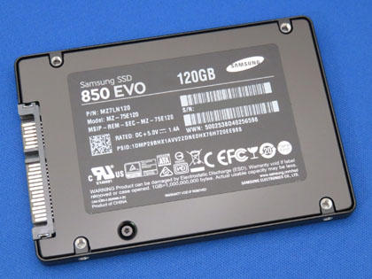 Samsung SSD 120GB 850 EVO MZ-75E120B/IT
