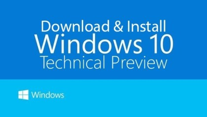 Windows 10 Technical Preview ダウンロードサイト