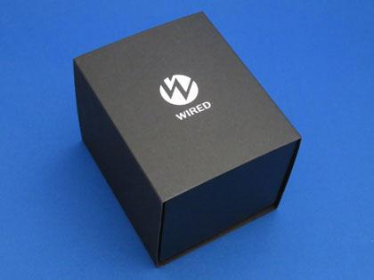 WIRED クロノグラフ クオーツ ハードレックス 10気圧防水 AGAT406