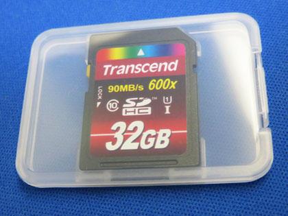 Amazon.co.jp限定 Transcend SDHCカード 32GB TS32GSDHC10U1E