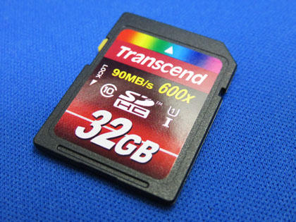Amazon.co.jp限定 Transcend SDHCカード 32GB TS32GSDHC10U1E