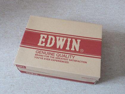EDWIN メンズ 防水カジュアルブーツ EDM-9700 ワイン