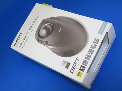 エレコム ワイヤレストラックボール M-DT1DRBK