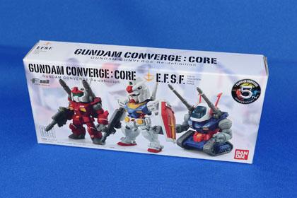 FW GUNDAM CONVERGE:CORE 連邦軍セット