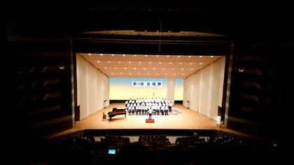 長女の高校の合唱祭