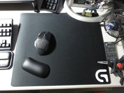ロジクール G640 ラージ クロス ゲーミング マウスパッド