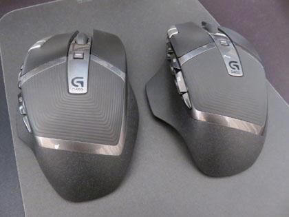 不具合品と交換品 ロジクール ワイヤレスゲーミングマウス G602