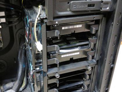 メインPC 清掃&HDD追加完了