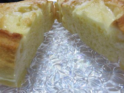 呉のメロンパンの新商品渦巻きパン