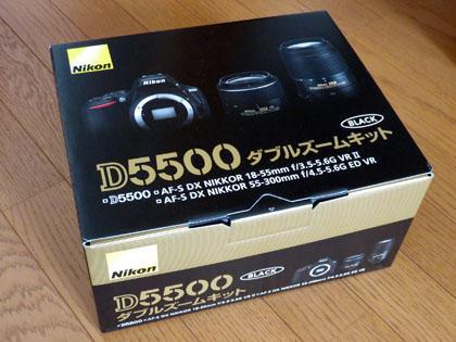 ニコン D5500 ダブルズームキット
