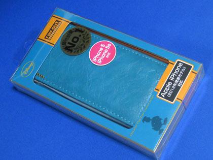 レイ・アウト iPhone SE/5s/5 ディズニー・フラップタイプレザージャケット/ドナルドRT-DP5B/DD
