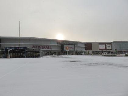 今シーズン2日目の大雪