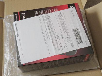 低価格ワイヤレスヘッドフォン Creative Sound Blaster JAM 購入