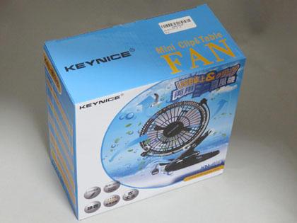 Keynice USB扇風機 卓上 クリップ型 静音 USBケーブル1.5m ミニ扇風機 風量2段階調節 360度角度調整 4枚羽根 USBファン