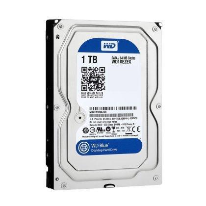 WESTERN DIGITAL HDD 内蔵ハードディスク 3.5インチ 1TB Blue WD10EZEX