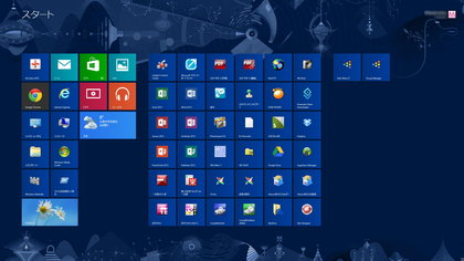 Windows 8 スタート画面