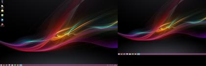 メインPC デスクトップ画面