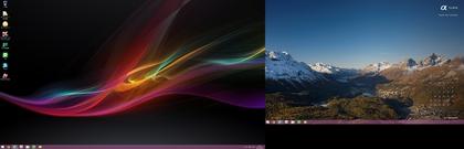 年明けデスクトップ画面