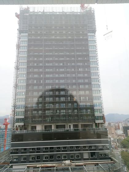 福屋屋上から広島駅周辺